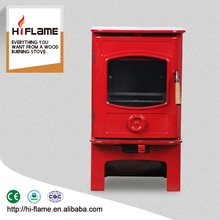 Factory Direct Sale High efficiency 5KW Prity Wood Heater Mini Wood Burning Stove HF905UA Giara (Log Stand Optional)