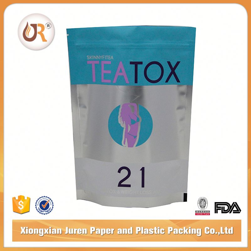Customized Heat Seal Vacuum Plastic Tea Bags Filter Paper