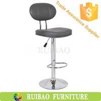 Cheap PU Leather Bar Stool/Bar Chair with Backrest