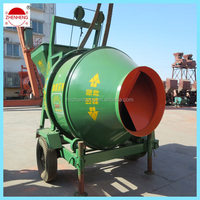 ISO9001 JZCP350 mini self loading portable concrete mixers from China on sale