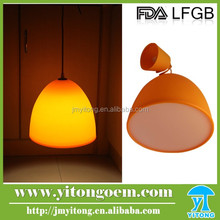 Modern silicone Vintage Pendant Lamp for Bar Restaurant Large Shopping mall
