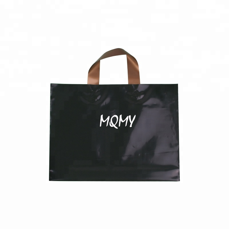 Retail Plastic Merchandise Shopping Bags Perfect For Small Shop & Stores, <strong>Trade</strong> Shows, Garage Sale & Event