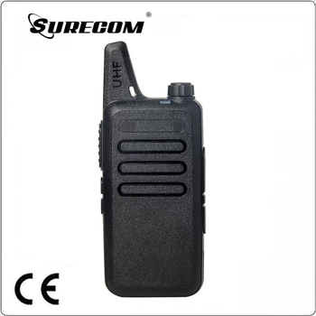 High Quality WLN KD-C1 Black 16 Channel Ham Radio 400-470 MHz UHF Walkie Talkie