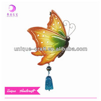 new fashion bell wind chime indoor outdoor metal garden butterfly decoration hanging wind bell chimes