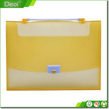 High quality crash proof A4 pp file box/plastic box file/waterproof document case