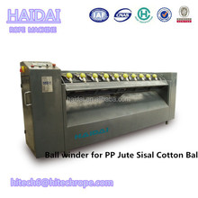 Semi-automatic PP Baler Twine Yarn Ball Winder With PLC