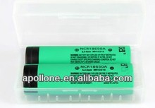 Hot sell high capacty NCR18650 cells rapid charge cylinder li ion battery cell