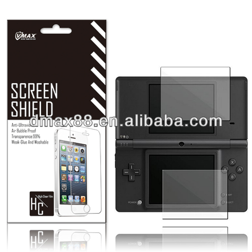LCD 3 Layer PET screen protector for Ndsl oem/odm (High Clear)