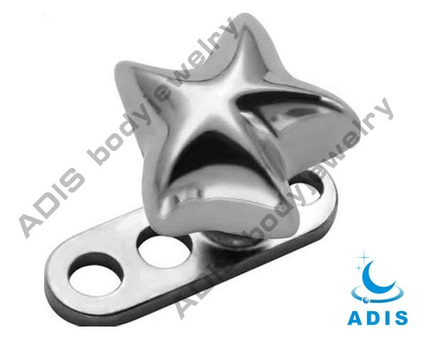 Hot products 316l stainless steel micro dermal piercing dermal anchor Jewelry