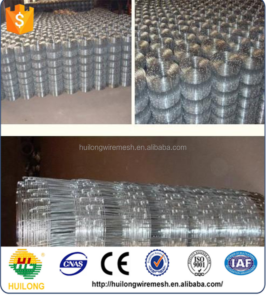 GALVANIZED IRON WIRE MESH FENCE FOR CATTLE /SHEEP/DOG/FENCE MESH ROLL