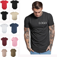 custom China clothing manufactures plain cotton t shirt , bulk wholesale short sleeve hip hop t shirt printing