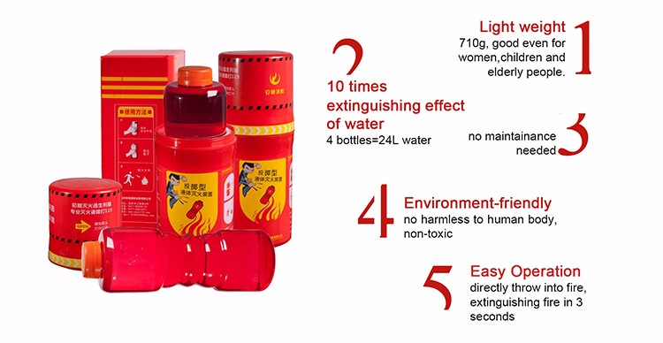handy throwable fire extinguisher