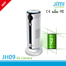 power bank connected 3g sim card p2p cloud wireless indoor ip camera cctv camera system