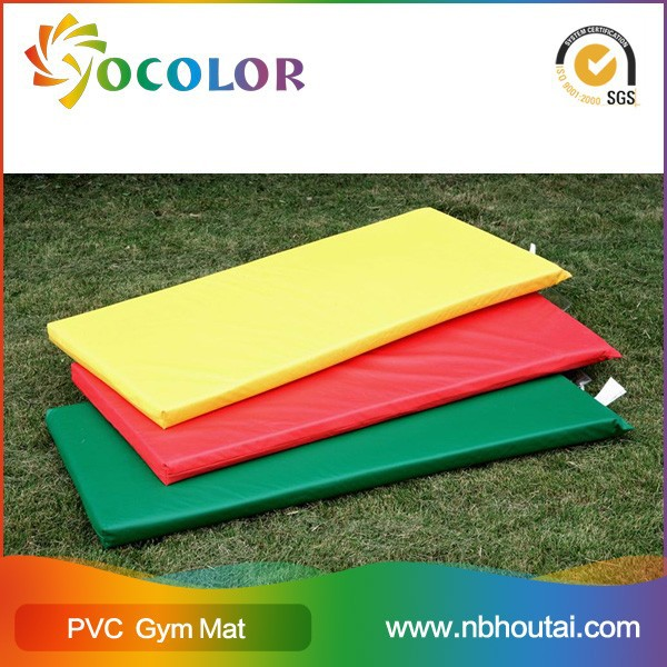 ecofriendly durable wrestling mat with PVC foam leather
