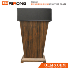 Good quality hotel wooden pulpit, hotel podium, lectern rostrum