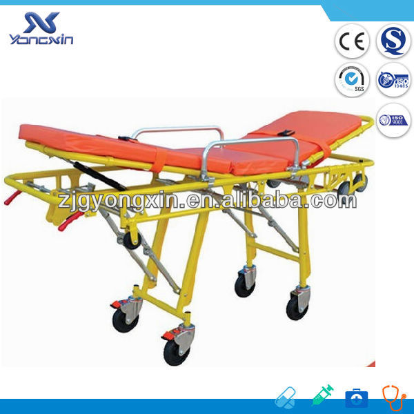 Hydraulic Rise-and-Fall emergency stretcher