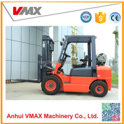 Vmax 4 ton LPG lifter for with penuatic tire and chinese engine