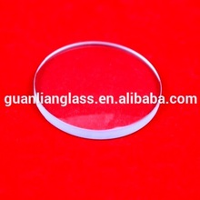 round clear float glass cover 10mm lens custom magnifying glass