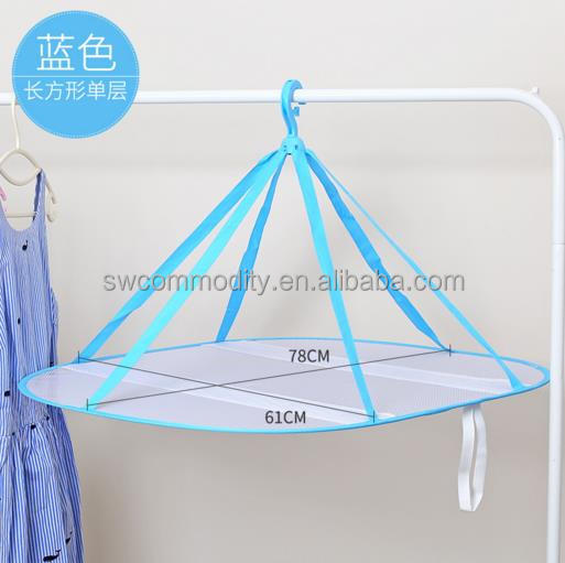 Clothes laundry drying net