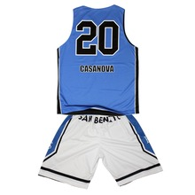 Cheap reversible basketball jerseys with numbers ; mesh basketball shorts ;basketball uniform