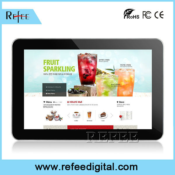 Ipad style narrow boarder ultra thin lcd display 17 inch flat panel