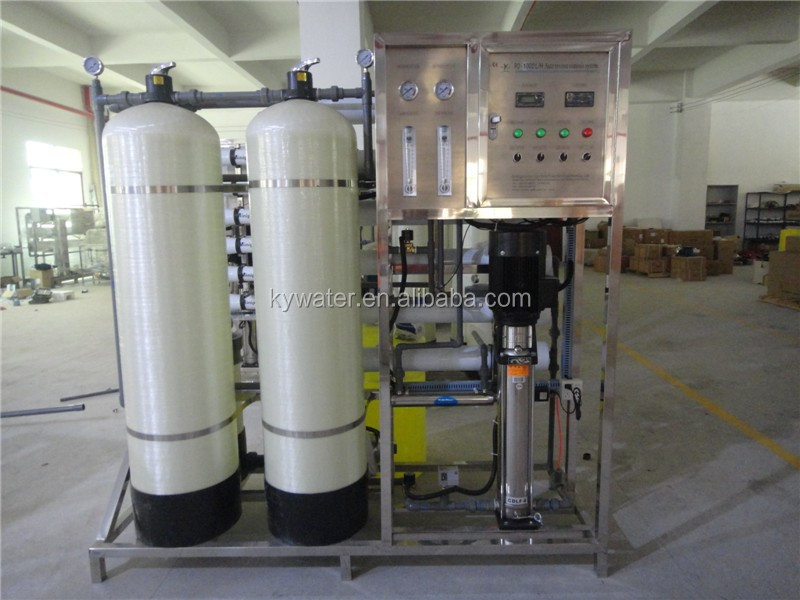 1t/h osmosi inversa delle acque di depurazione solari unità sistema di dissalazione per bere ...