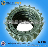 R130 parts for excavator , drive sprocket rim wheel made by 50Mn