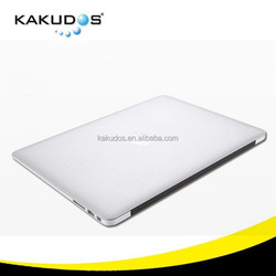 Sample accept High Quality Full Body Laptop skin cover Metallic Silver for apple macbook pro /retina/air
