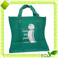 2016 hot sale reusable supermarket shopping tote grocery promotion gift cheap printed non woven retail bag