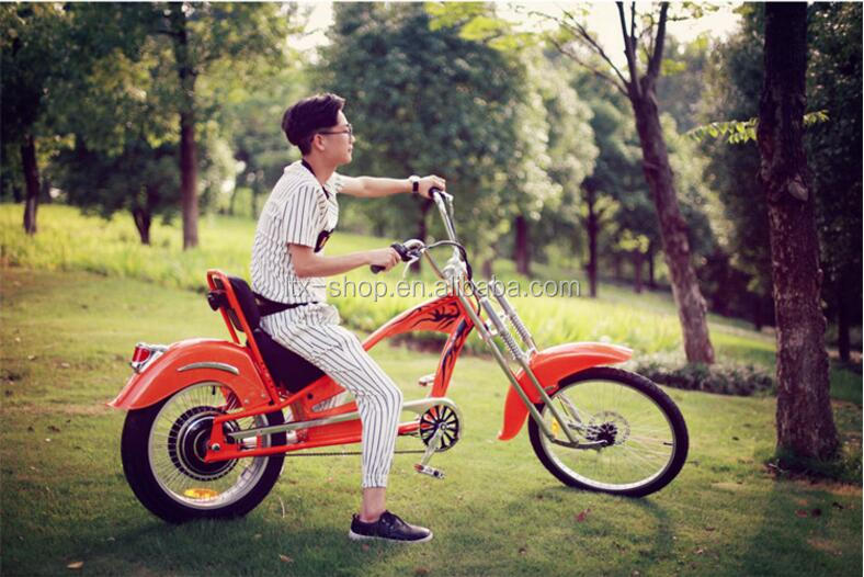 Cheap Electric Bike, 24inch Fat Tire Cool Motorbike, Electric Bicycle With Pedal Assist