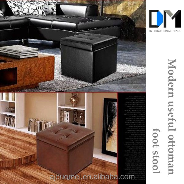 modern useful living room furniture shoe store foot stool