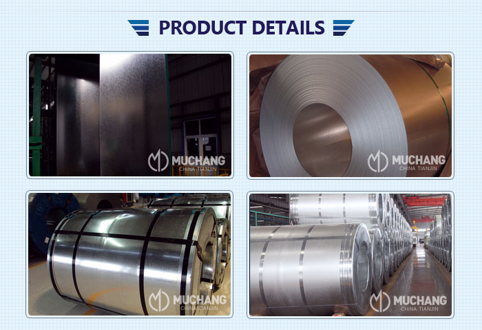 dx51d z275 galvanized zinc steel coil