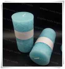 colorful pillar candles paraffin wax for carved candles