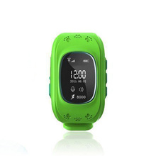 Hot selling kid GPS watch Q50 GSM card SOS Call GPS safe tracker with geo fence