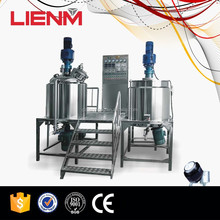 High Shear Dispersing Cosmetic Ointment Vacuum Emulsifier Homogenizer Mixer