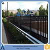 Duralbe Faux Steel Fence For Garden/Ornamential Salable Wrought Iron Fence/Temporary Steel Fence For Sale