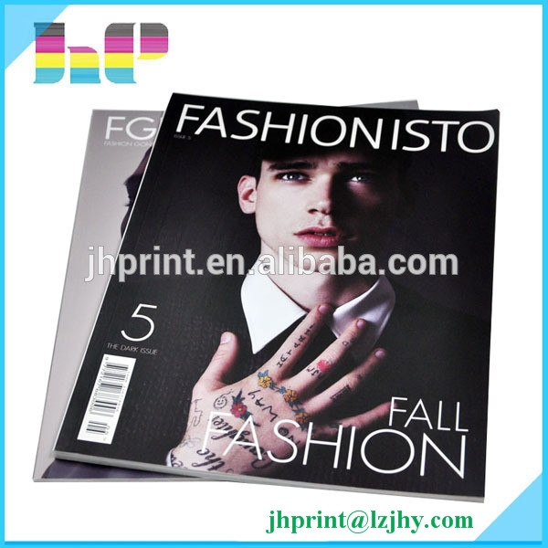 High quality magazine printing factory magazines