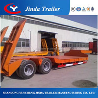 Professional 2 axle flatbed trailer leasing used international semi trucks for sale