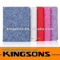 top sales! leather design case for ipad 3 smart cover