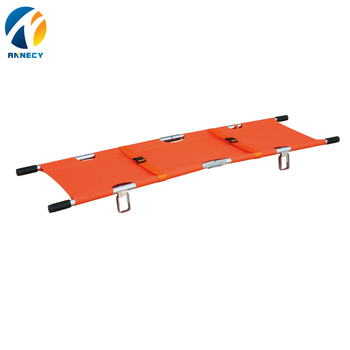 AC-FS011Ambulance used hospital equipment dimensions for sale medical Patient Military folding stretcher with wheel