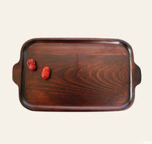 Creative Dual Handle Rectangular Home Dinner <strong>Plate</strong>