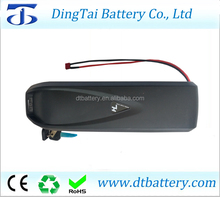 Free shipping Hailong 36v 10ah e-bike li ion battery 36v 10ah down tube electric bike battery