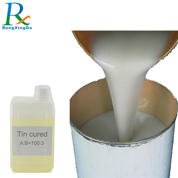 rtv-2 two component  liquid silicone rubber for gypsum mold making