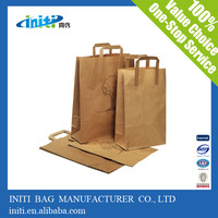 china supplier resealable zipper kraft paper food packaging bags