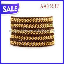2013 fashion different kinds of stone bracelet custom wrap bracelet