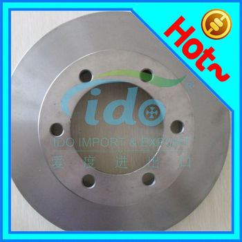 G3000 cast iron brake disc for Toyota Landcruiser 43512-35210