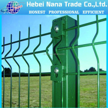 Hot sale Powder Or PVC Coated Galvanized Welded Wire Mesh Fence / Curved welded wire mesh fence