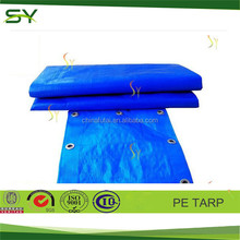 Dubai Double Sides Color Coating Poly Tarp Protect Cover, light protective cover, plastic protective cover