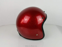motorcycle protection/novelty cascos MOTORCYCLE FLAKE OPEN FACE HELMET GERMAN TYPE