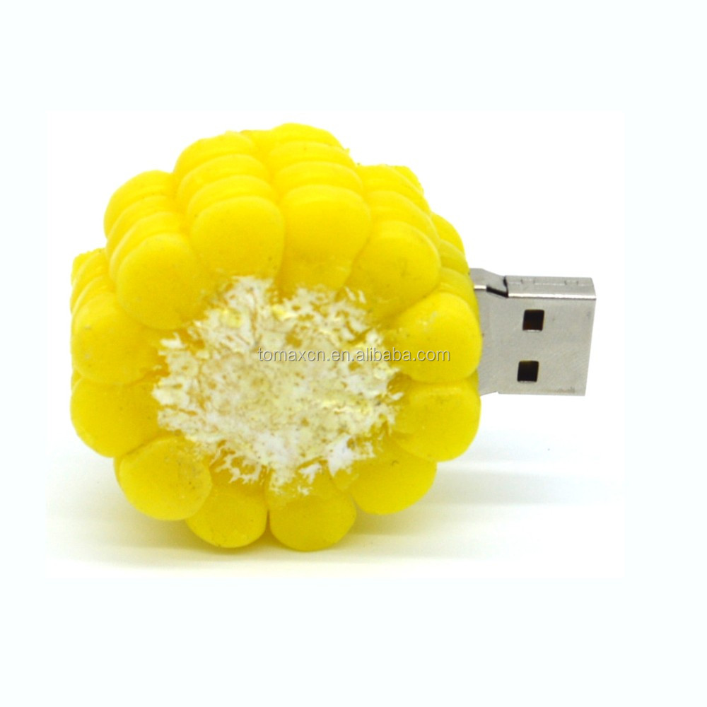 Tomax pineapple design custom shape usb key for holiday gifts